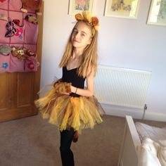 Easy no sew kids lion halloween costume pinterest halloween diy lion king costume solutioingenieria Image collections