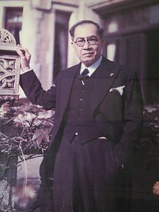 On March 9, 1891, Jose P. Laurel, president of the Japanese-sponsored Republic of the Philippines during World War II, from 1943 to 1945, was born in Tanauan, Batangas.