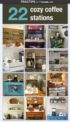 Practips: Cozy Coffee Stations
