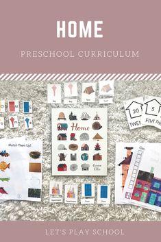 Let's Play School Preschool Curriculum - Preschool At Home, Preschool Curriculum, Preschool Activities, Homeschooling, Social Studies Book, Pre K Age, Child Love, Pre School, School Ideas