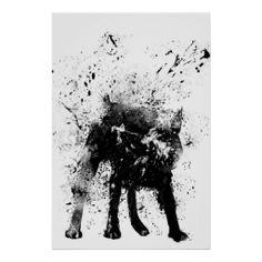 I love this amazing wet dog poster from Zazzle