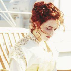Rose DeWitt Bukater Costume Titanic, Titanic Rose, Rms Titanic, Kate Winslet Images, New Hair, Your Hair, Titanic Kate Winslet, Leo And Kate, James Cameron