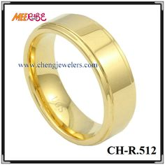 Flat shape tungsten pride dubai wedding rings yellow gold ring engrave name his and hers wedding bands