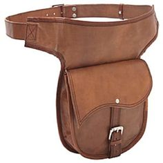 Sharo Hand-crafted Leather Hip Belt Bag