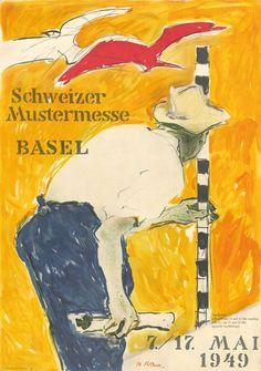 Schweizer Mustermesse, Basel ~ Hans Falk | #TradeFairs #Basel #Switzerland