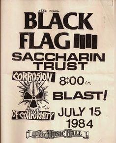 36bc288b890 Punk rock rules Vintage Concert Posters