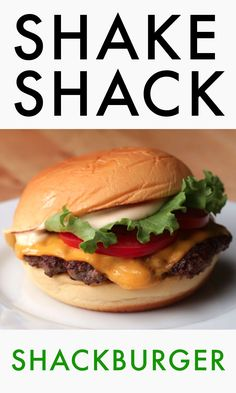 The ShackBurger As Made By Mark Rosati #TastyStory