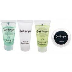 Gama completa de productos de acogida: Loción manos / cuerpo, Champú / acondicionador, Gel de baño / Ducha, Pastilla de Jabón. http://www.ilvo.es/571-productos-de-acogida