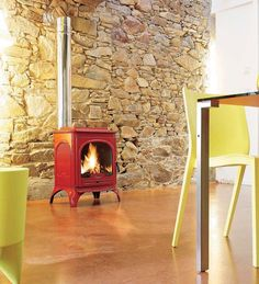 View Cheapest Price A very stylish wood burning stove with an impressive heat output. Constructed from solid cast iron and with a large viewing window this stove will be a centre piece in any room. Wood Burning Stoves Uk, Wood Stoves, Prefab Homes, Log Homes, Home Fireplace, Fireplaces, Multi Fuel Stove, Kitchen Stove, Log Burner