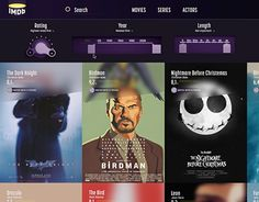 "Check out new work on my @Behance portfolio: ""IMDb Redesign"" http://be.net/gallery/53020397/IMDb-Redesign"