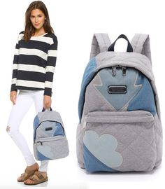 Marc by Marc Jacobs Crosby Quilt Denim Backpack