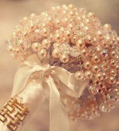 Bouquet de Noiva com Pérolas Passo a Passo 01