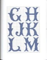 "Gallery.ru / OlgaHS - Альбом ""9"" Cross Stitch Alphabet Patterns, Cross Stitch Letters, Cross Stitch Designs, Stitch Patterns, Cross Stitching, Cross Stitch Embroidery, String Crafts, Embroidery Monogram, Tapestry Crochet"