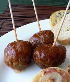 MIH Recipe Blog: Saucy Meatballs