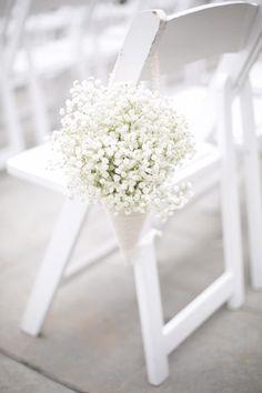 Santorini Wedding Inspiration: 15 Ways to Decorate your Wedding Aisle Wedding Chair Decorations, Wedding Chairs, Wedding Bouquets, Wedding Flowers, Flower Bouquets, Floral Wedding, Wedding Reception, Our Wedding, Wedding Blog