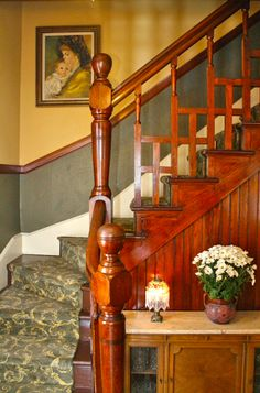 Historic Frank J. Devilbiss House c.1889 - Stairs @James Bartlett - for our house?