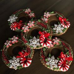 Winter Christmas, Christmas 2019, Xmas, Christmas Cookies, Christmas Wreaths, Ginger House, Dough Ornaments, Advent, Tis The Season