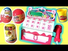 My Little Pony Sugar Cube Cash Register Toy Review Funtoyscollector Play-Doh Toys Surprises - YouTube