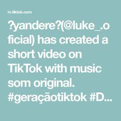 ❤yandere❤( has created a short video on TikTok with music som original. Yandere, Texts, The Originals, Create, Music, Muziek, Texting, Musik, Text Messages