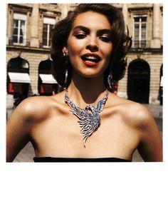 Vogue Paris Editorial Les Feux de la Ville, October 2011 Shot #7