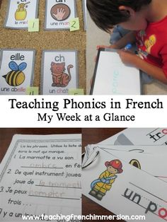 Teaching Phonics in French - Teaching French Immersion: Ideas for the Primary Classroom Read In French, How To Speak French, Learn French, Teaching Phonics, Teaching Reading, Guided Reading, French Lessons, Spanish Lessons, Teaching French Immersion