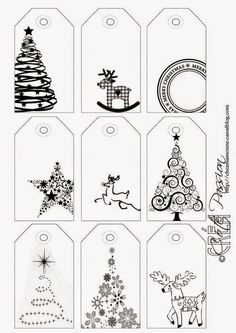 Côté Passion 9 tag BW Christmas is artistic inspiration for us. Get extra photograph about Residence Decor and DIY & Crafts associated with by taking a look at photographs gallery on the backside of this web page. We're need to say thanks in the event you Christmas Labels, Noel Christmas, Christmas Printables, Winter Christmas, All Things Christmas, Christmas Gift Tags Printable, Printable Tags, Holiday Crafts, Coloring Pages