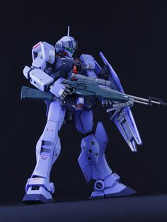 A fast build of the fresh released MG 1/100 RGM-79SP GM Sniper II has been appeared recently on modelers-g, this is MG RGM-79SP GM Snip...