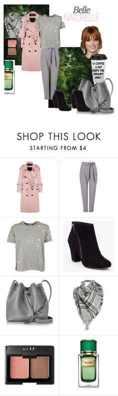"""""""fancy walk in the park"""" by milusart ❤ liked on Polyvore featuring Burberry, Phase Eight, RED Valentino, BCBGeneration, Lancaster, Charlotte Russe and Dolce&Gabbana"""