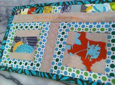 PA-TX mug rug for my mom by lebanoncedars, via Flickr