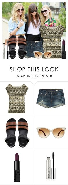 """""""12/11/16"""" by mapsandmarquez ❤ liked on Polyvore featuring Calypso St. Barth, rag & bone, ASOS, Tom Ford, NARS Cosmetics, Clinique, women's clothing, women's fashion, women and female"""