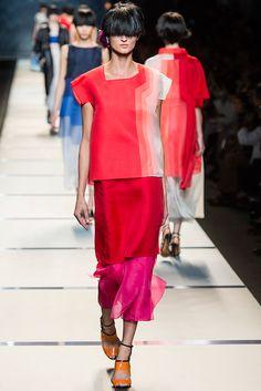 Fendi - Spring/Summer 2014 Milan Fashion Week