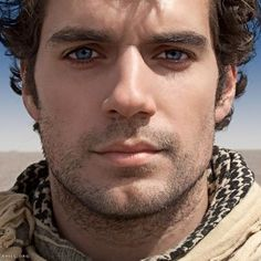 Henry Cavill looking gorgeous