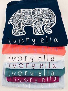 6a9fb45a6cb0c5 ivory ella - cute shirts that support the elephants!  Ivory Ella T Shirts
