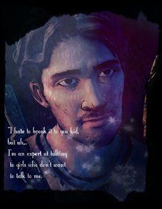 [Luke.] by Clementine-TWDG.deviantart.com on @deviantART