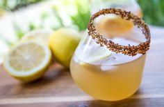 Coconut & Lemon Cocktail. Delish!
