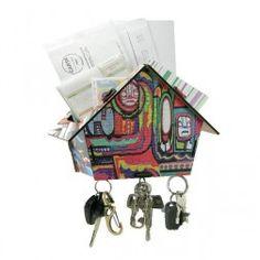 Porta Cartas e Chaves Asteca