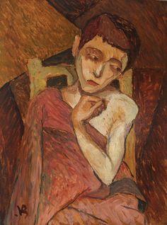 Victor Brauner, Portret de fată