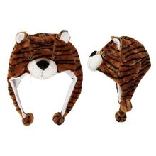 Wholesale Brown Tiger Animal Hat A105 (1 pc.) $3.50 a piece