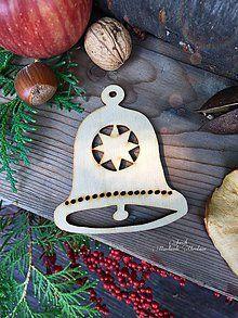 Dekorácie - Vianočný výrez (A8) - 7135363_