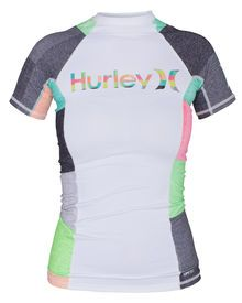 The One & Only Short Sleeve Women's Rashguard features flatlock seams for zero chafe comfort, wi...