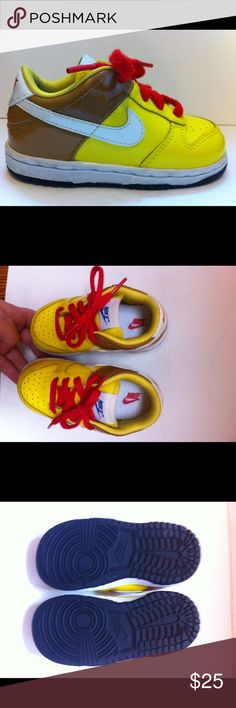Nike Dunk Low GS Spongebob sneakers toddler 6.5