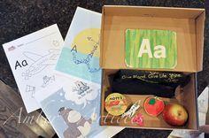 Pre-Toddler (12-18 month) Activity #2: Alphabet Box
