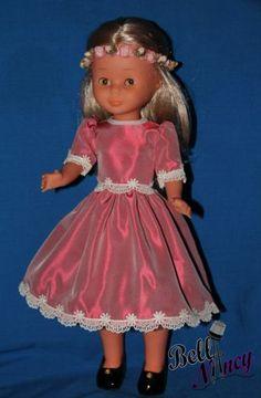 NANCY . VESTIDO ROSA PARA NANCY | eBay