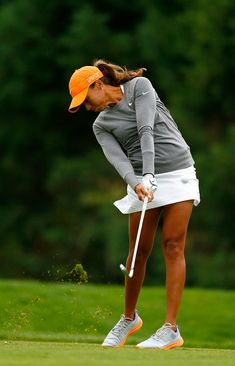 Cheyenne Woods Photos - Cheyenne Woods tees off on the 2nd hole during the second round of the LPGA Cambia Portland Classic at Columbia Edgewater Country Club on August 14, 2015 in Portland, Oregon. - Cheyenne Woods Photos - 216 of 625