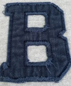 WASHED DOUBLE APPLIQUE