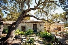 Holman Ranch (Carmel Valley, CA)-Another look up close at the Spanish architecture...where you walk outside to get to the next room!