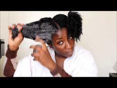 41) Hair Regimen 1 of 3: SHAMPOOING my 4c Natural Hair - YouTube