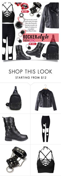 """""""NewChic 17"""" by captainsilly ❤ liked on Polyvore featuring WithChic"""