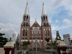 St Mary's Cathedral, Yangon, Myanmar (Burma). Go here for more information on Yangon: www.go-myanmar.com/yangon-rangoon