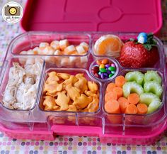awesome snack and lunch ideas.  I never know what the frick to put in our little one's lunch box!  bento2013-59 by kirstenreese, via Flickr
